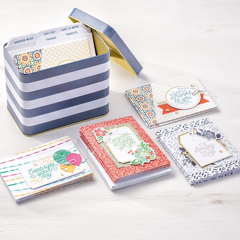 Designer Tin of Cards Project Kit - Click for more details