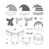 Jolly Friends Photopolymer Stamp Set