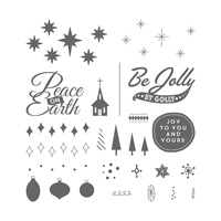 Be Jolly, By Golly Photopolymer Stamp Set