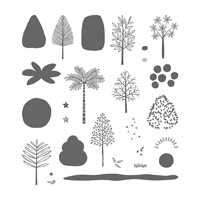 Totally Trees Photopolymer Stamp Set