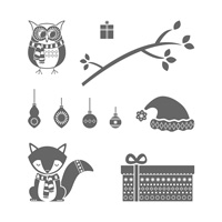 Cozy Critters Photopolymer Stamp Set