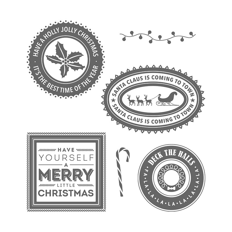 Afbeeldingsresultaat voor stampin up holly jolly layers