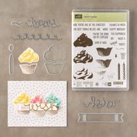 Doux Cupcake photopolymère Bundle