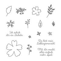 Für Lieblingsmenschen Photopolymer Stamp Set (German)