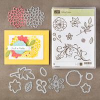 Flocons de fleurs Ensemble de montage transparent