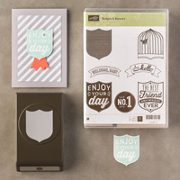 Badges & Bannières Wood-Mount Bundle