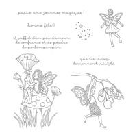 Poussière de fée Clear-Mont Stamp Set (français)