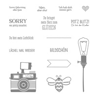 Wortspielereien Photopolymer Stamp Set (German)