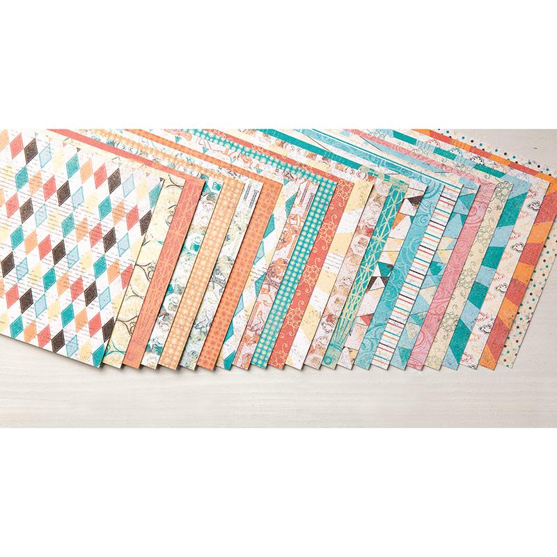 Cupcakes & Carrousels Designer Series Paper Stack