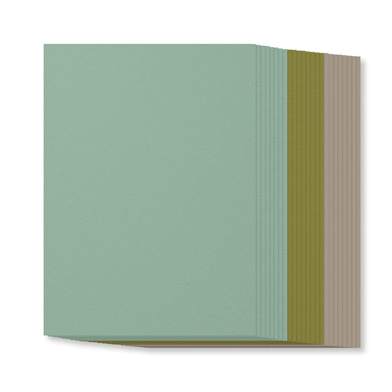 Succulent Garden A4 Cardstock Pack