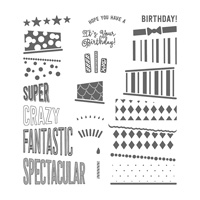 Cake Crazy Photopolymer Stamp Set