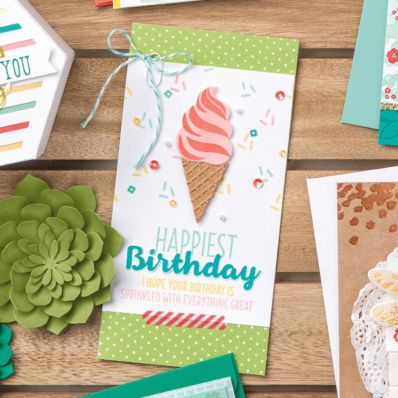 Cool Treats Photopolymer Stamp Set