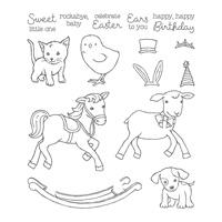 Little Cuties Photopolymer Stamp Set