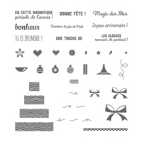Parsemé de bons vœux Photopolymer Stamp Set (French)