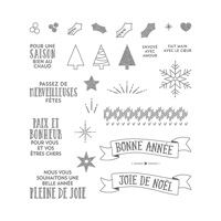 Cousu avec joie Photopolymer Stamp Set (French)