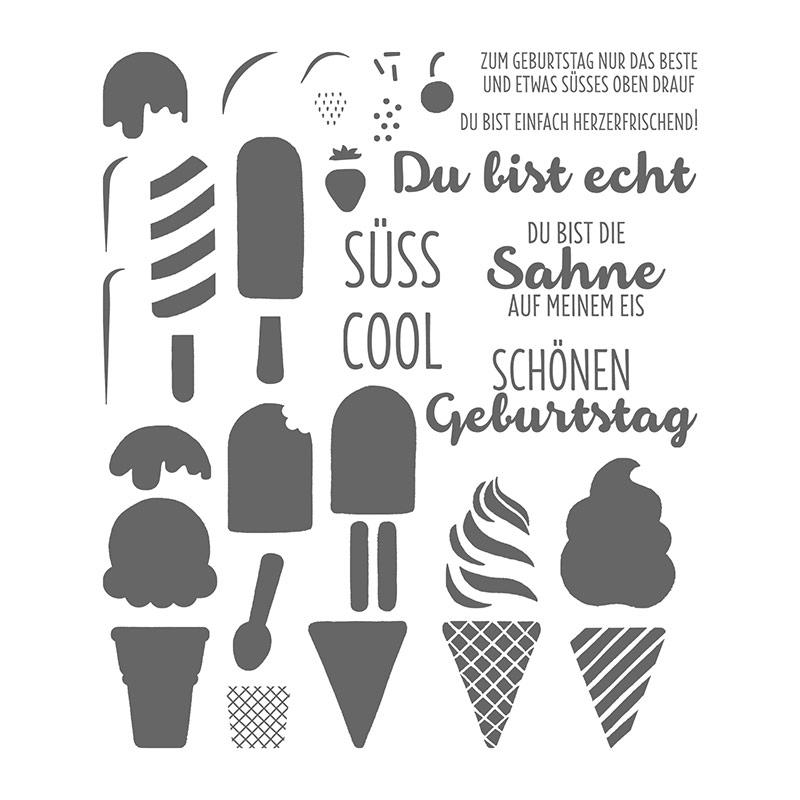 Eis, Eis, Baby! Photopolymer Stamp Set (German)