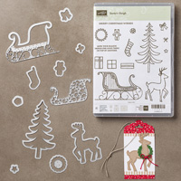 Santa's Sleigh Photopolymer Bundle