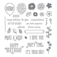 Happy Birthday Gorgeous Photopolymer Stamp Set