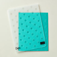 Oh My Stars Textured Impressions Embossing Folder