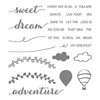 Dare To Dream Photopolymer Stamp Set