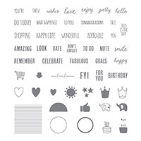 Tabs For Everything Photopolymer Stamp Set