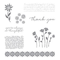 Background Bits Wood-Mount Stamp Set