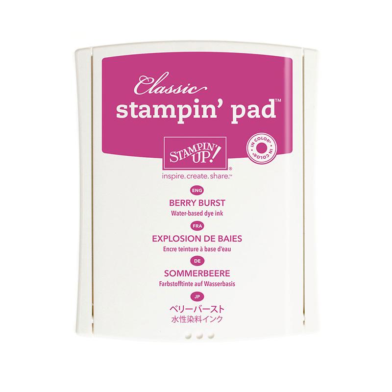 Berry Burst Classic Stampin' Pad