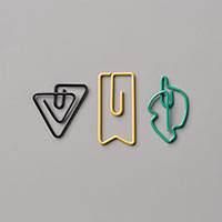 Eclectic Shaped Paper Clips