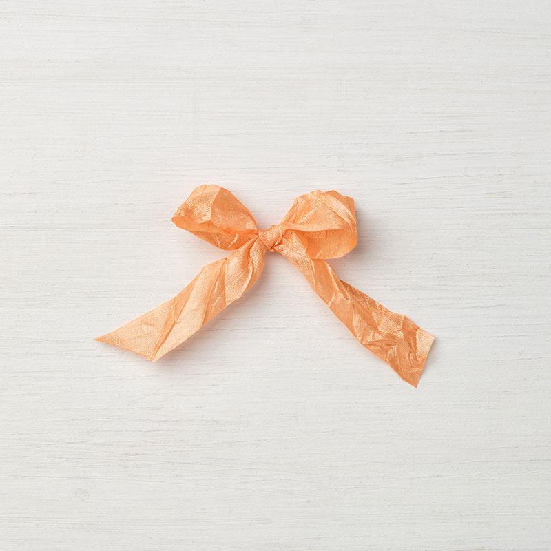 """Peekaboo Peach 5/8"""" Crinkled Seam Binding Ribbon"""