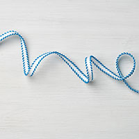 Pacific Point 1/4 Stitched-Edge Ribbon