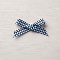 Night of Navy 1/2 Gingham Ribbon