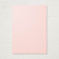 Powder Pink cardstock