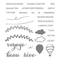Réalise ton rêve Photopolymer Stamp Set (French)