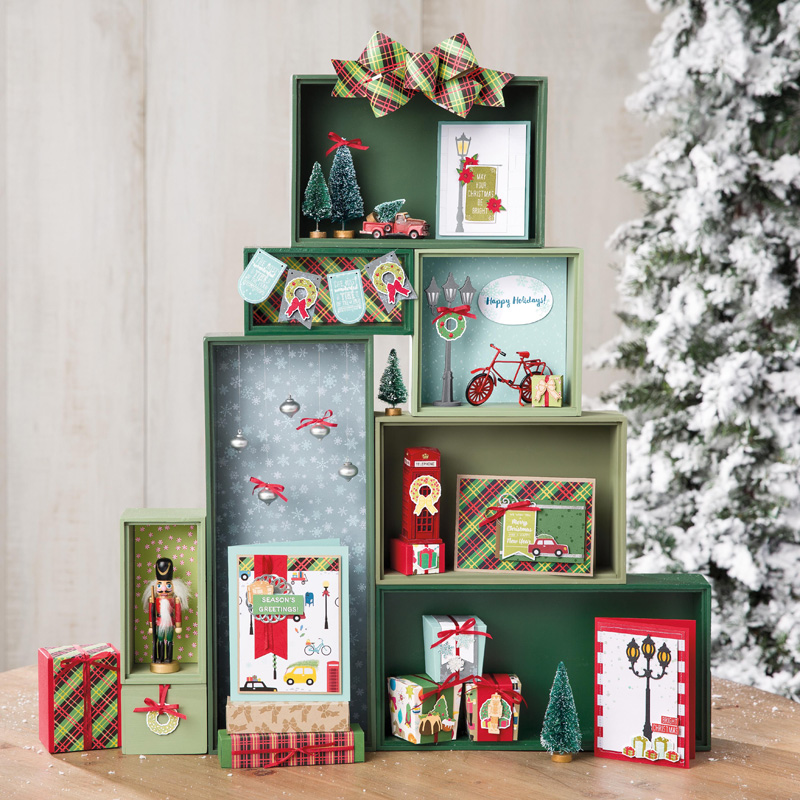 Christmas Around the World Designer Series Paper