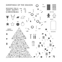 Iconic Christmas Photopolymer Stamp Set