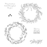 Feeling of Christmas Clear-Mount Stamp Set