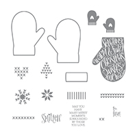 Smitten Mittens Photopolymer Stamp Set