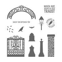 Nacht der offenen Tür Clear-Mount Stamp Set (German)