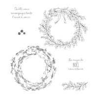 Ambiance de Noël Clear-Mount Stamp Set (French)