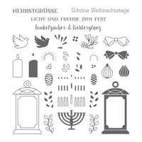 Laternenzauber Photopolymer Stamp Set (German)