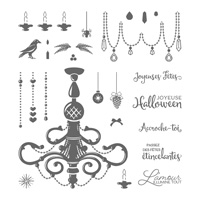 Fêtes brillantes Photopolymer Stamp Set (French)