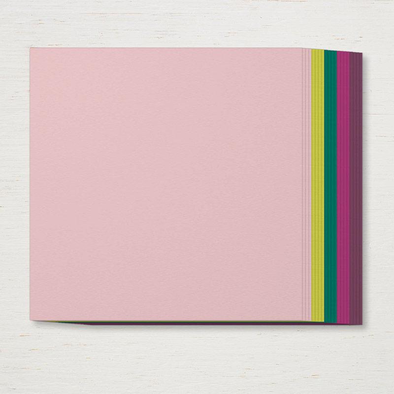 "2017-2019 In Color 12"" x 12"" Cardstock"