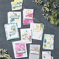 Kit pour cartes Douces notes (French)