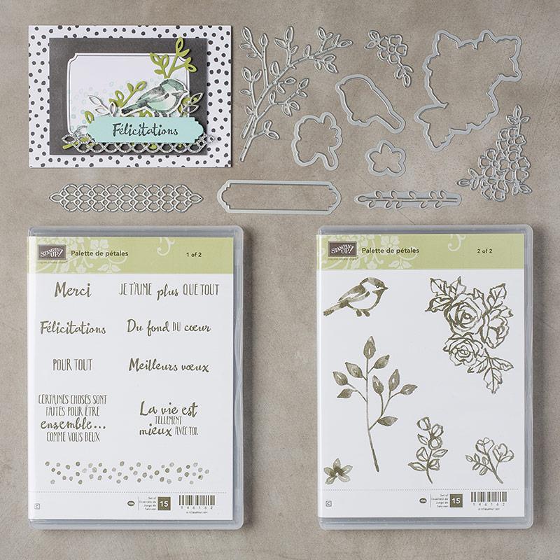 Palette de pétales Paquet clair (français)