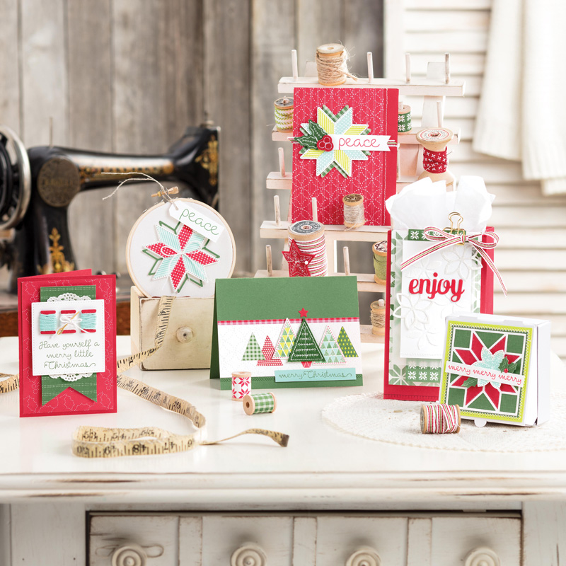 Christmas Quilt Photopolymer Bundle