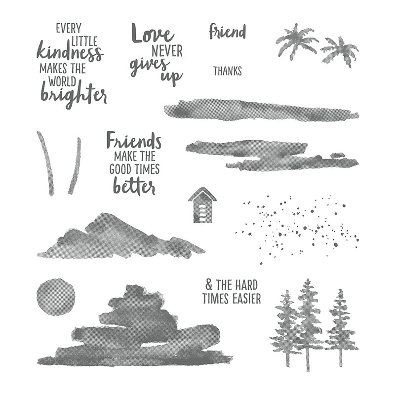 Waterfront Photopolymer Stamp Set