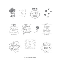 Treat Time Clearmount Stamps