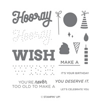 broadway birthday stampin up
