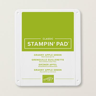 stampin up-gruener apfel