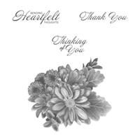 Heartfelt Blooms Wood-Mount Stamp Set